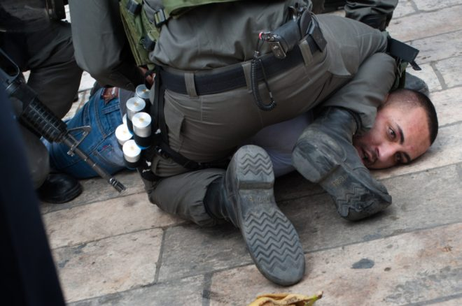 Israeli police arrest Palestinian