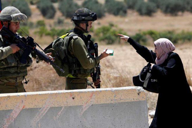 Palestinian_woman_IDF