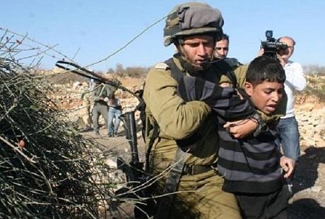 تقرير دولي: جيش الإحتلال رفع وتيرة اعتقال الأطفال بنسبة 80′